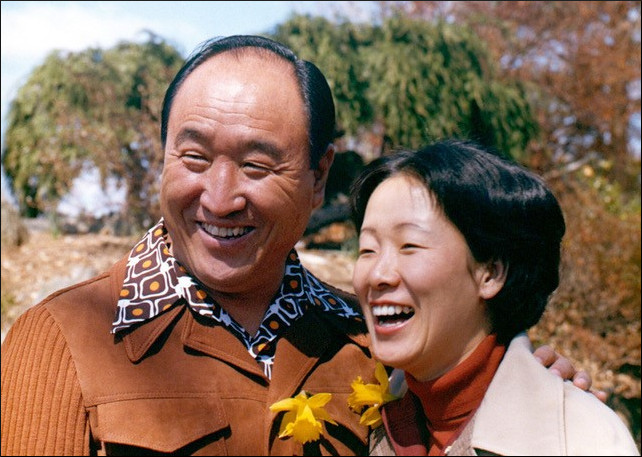 Rev. Sun Myung Moon and wife Dr. Hak Ja Han Moon share more than 50 years of public service to building world peace (Photo credit: Family Federation for World Peace and Unification)